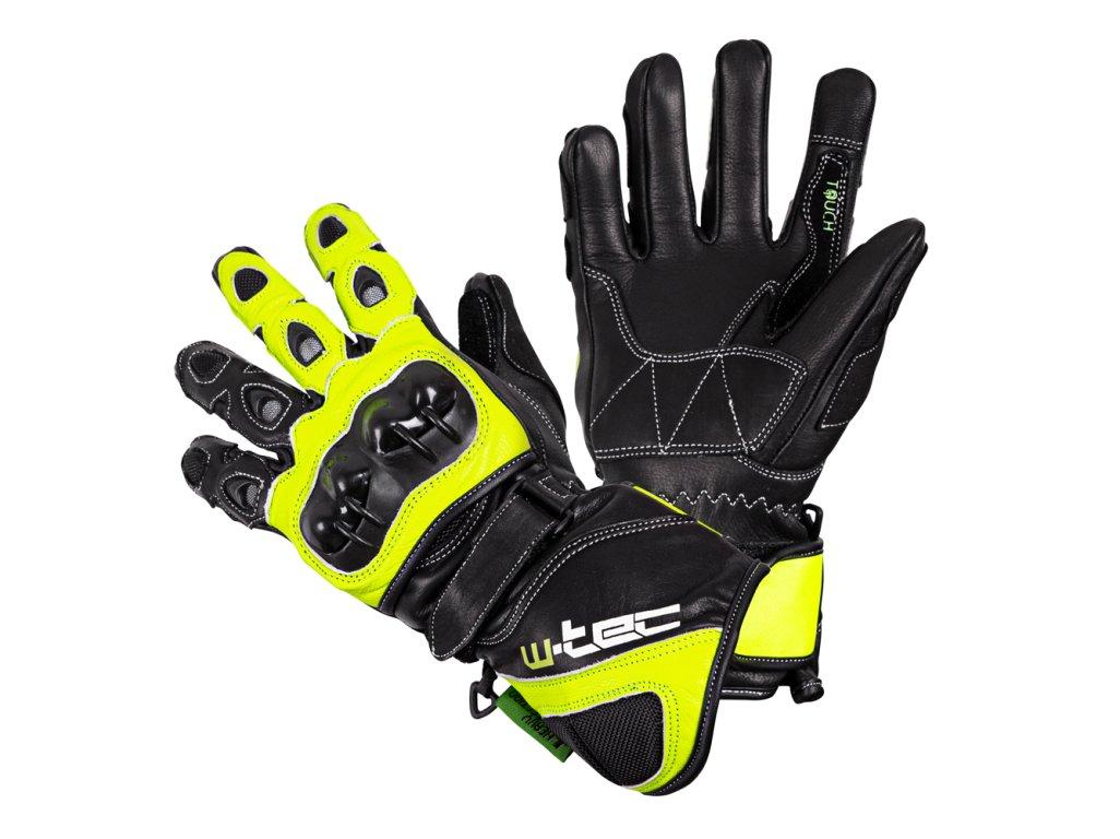 Motocyklové rukavice W-TEC Supreme EVO